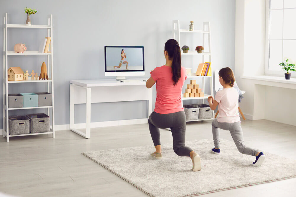 online gym and exercise