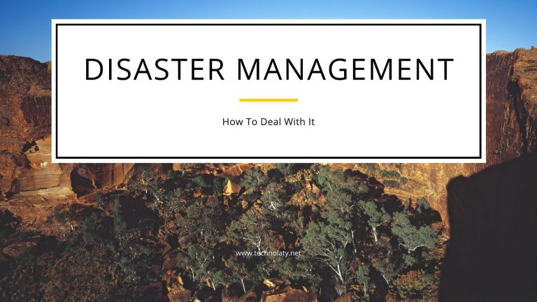 How To Deal With Disaster