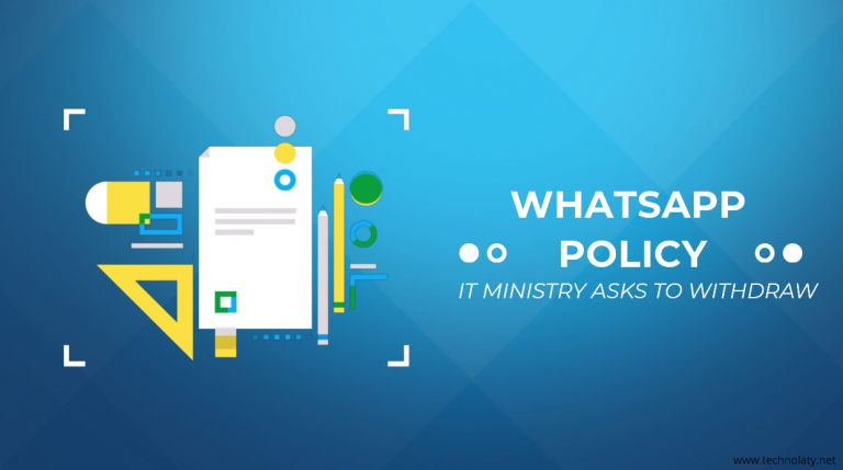 IT Ministry against whatsapp policy
